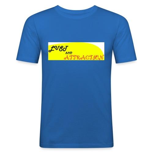 lust ans attraction - Men's Slim Fit T-Shirt