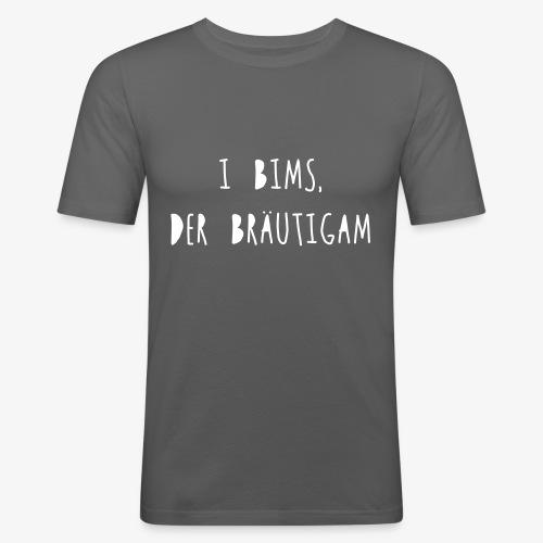 I bims, der Bräutigam - Männer Slim Fit T-Shirt