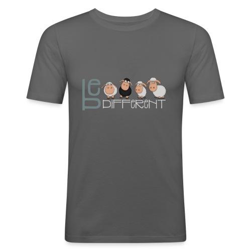 Be different schafe - Lustige einzigartige Schafe - Männer Slim Fit T-Shirt