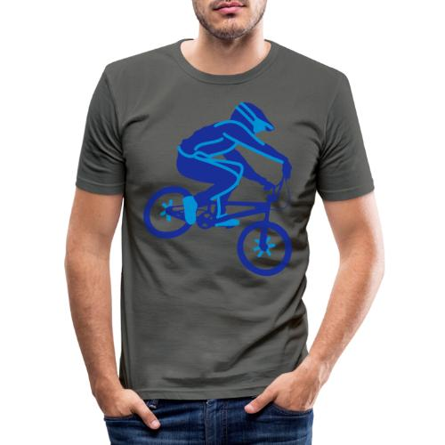 BMX Rider Dark - slim fit T-shirt