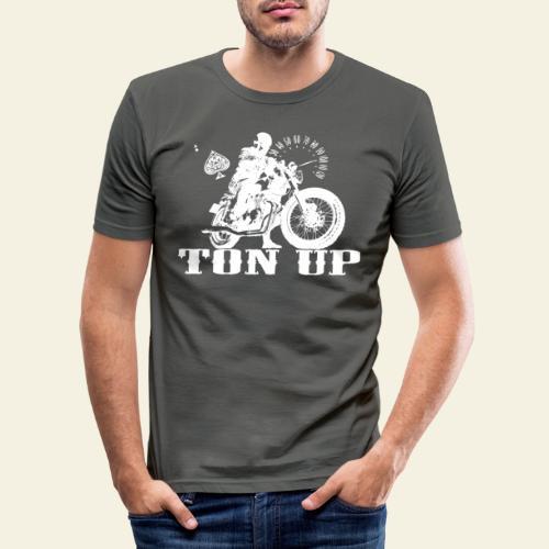 ton up white - Herre Slim Fit T-Shirt