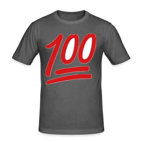 100 - slim fit T-shirt