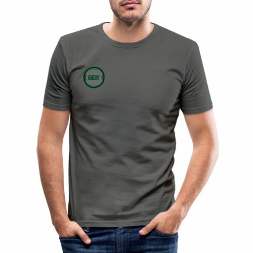 Göteborg Emergency Roleplay || Logga - Slim Fit T-shirt herr