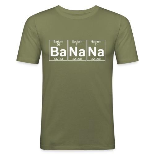 Ba-Na-Na (banana) - Full - Men's Slim Fit T-Shirt