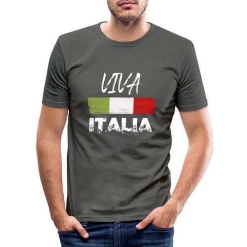 VIVA ITALIA - Men's Slim Fit T-Shirt