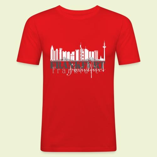 FFM - Frankfurt Skyline - Männer Slim Fit T-Shirt