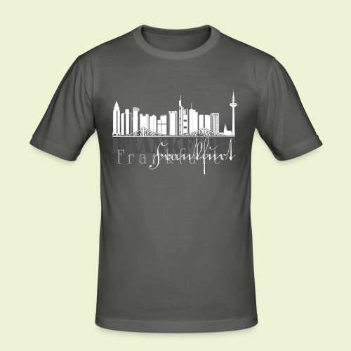 FFM - Frankfurt Skyline - Männer Slim Fit T-Shirt