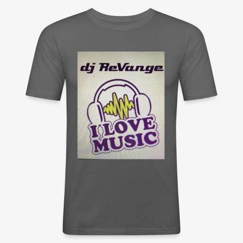 DJ REVANGE - T-shirt près du corps Homme
