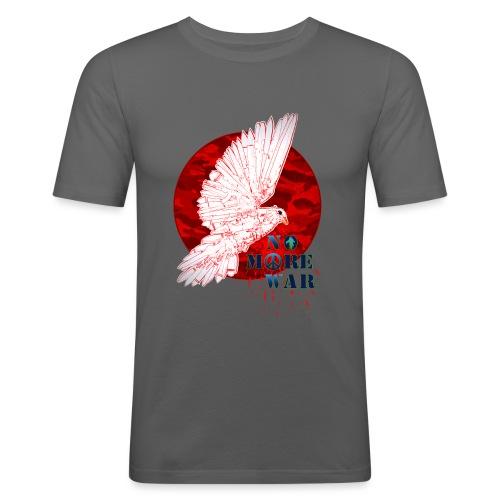 No More War Now - Männer Slim Fit T-Shirt