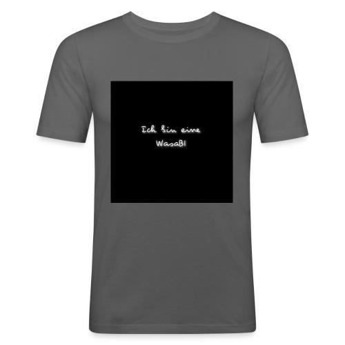 Ich bin eine WasaBI - Männer Slim Fit T-Shirt