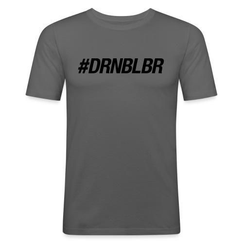 DRNBLBR_Shirt_blau - Männer Slim Fit T-Shirt