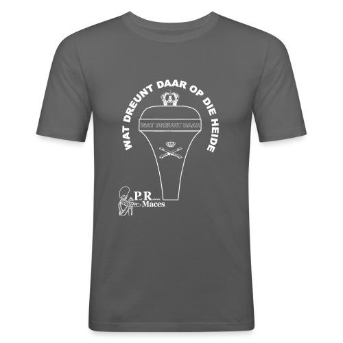 PR NL artillerie - Mannen slim fit T-shirt