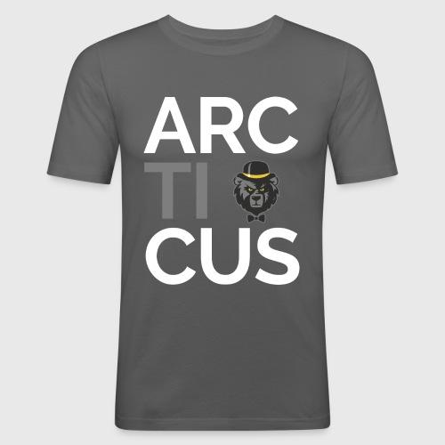 Arcticus font - Men's Slim Fit T-Shirt