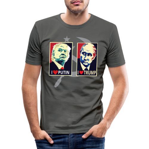 Trump Putin - slim fit T-shirt