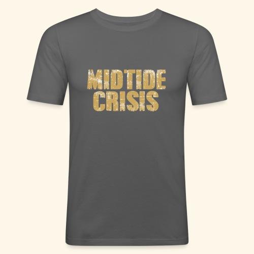 midtidecrisisMotiv3 - Männer Slim Fit T-Shirt