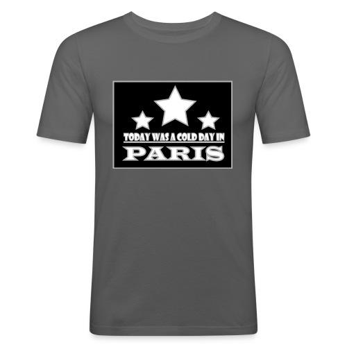 ColdParis - T-shirt près du corps Homme