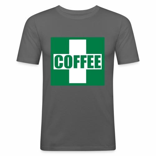 Emergency Coffee - Men's Slim Fit T-Shirt