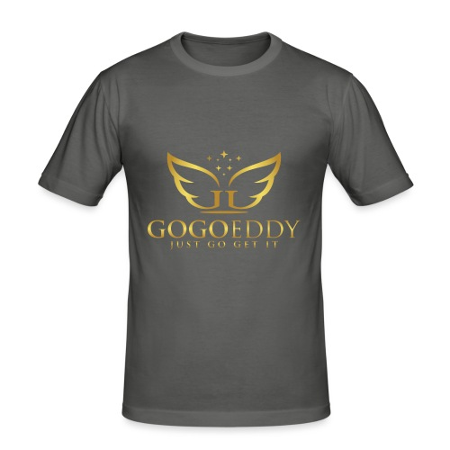 GoGo Eddy Gold Merchandise - Men's Slim Fit T-Shirt