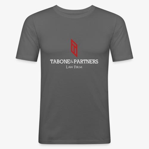 LogoBlanc TP - T-shirt près du corps Homme
