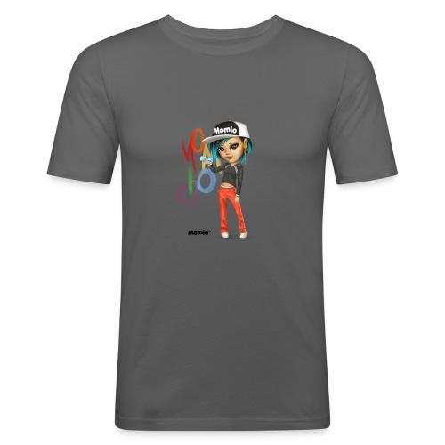 Maya - von Momio Designer Cat9999 - Männer Slim Fit T-Shirt