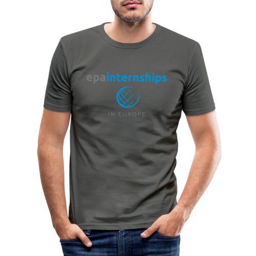 EPA Shirt Grey - Men's Slim Fit T-Shirt