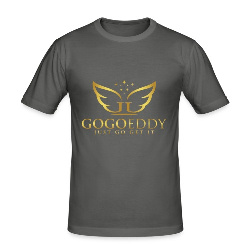 GoGo Eddy Gold Merchandise - Men's Slim Fit T-Shirt