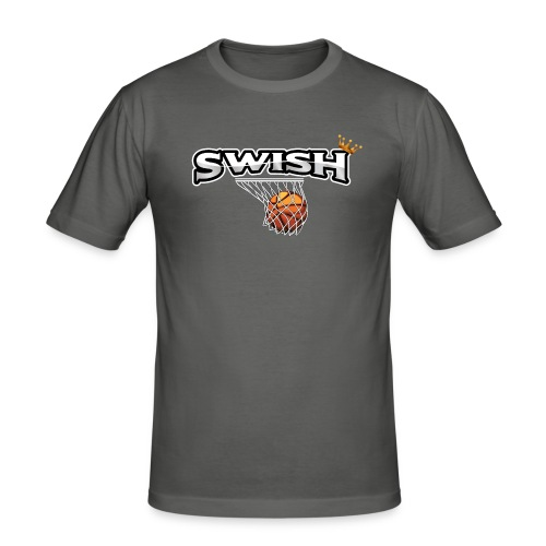 The king of swish - For basketball players - Men's Slim Fit T-Shirt