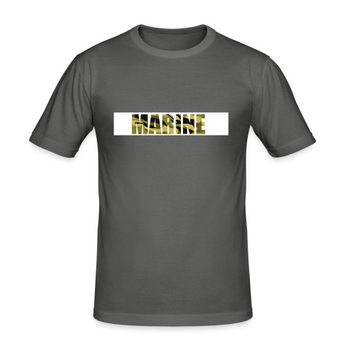 Marine Army - Herre Slim Fit T-Shirt