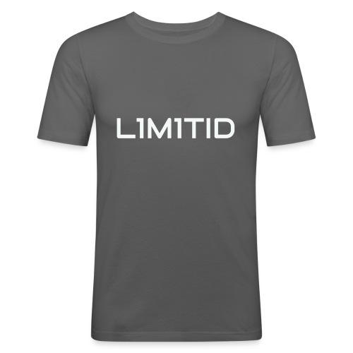 L1M1TID Official Tee - Slim Fit T-skjorte for menn