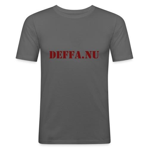 Deffa.nu - Slim Fit T-shirt herr