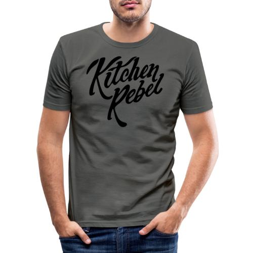 Kitchen Rebel - Men's Slim Fit T-Shirt