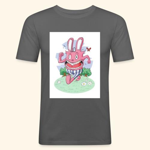 arnold le lapin - T-shirt près du corps Homme