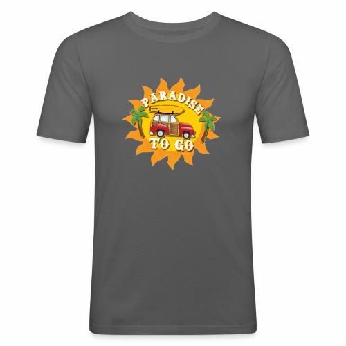 Paradise still bra för semester - Slim Fit T-shirt herr