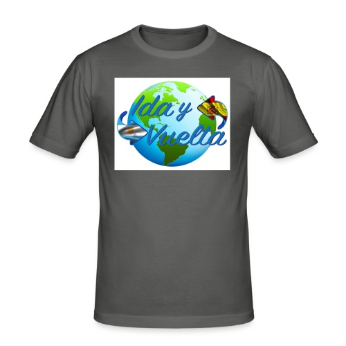 Ida y Vuelta-jpeg - Camiseta ajustada hombre