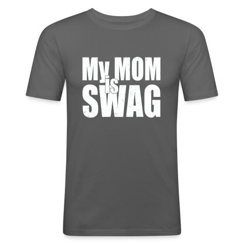 Swag White - slim fit T-shirt