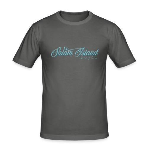 Salam Island calli bleu - T-shirt près du corps Homme