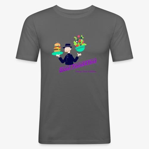 SoulFood4You - Männer Slim Fit T-Shirt
