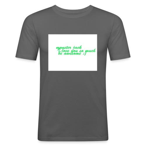 monster jack logo - Men's Slim Fit T-Shirt