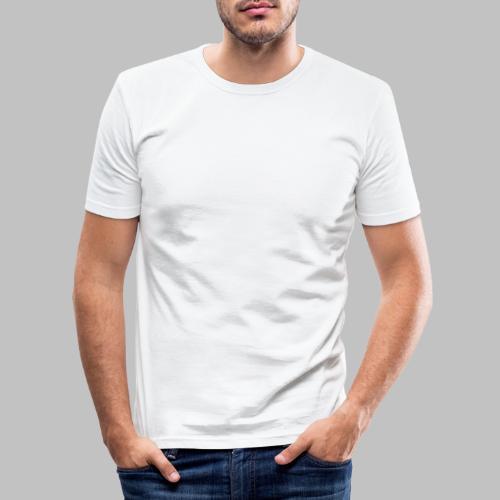 Der mit dem Schäferhund geht - White Edition - Männer Slim Fit T-Shirt