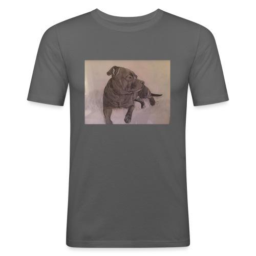 My dog - Slim Fit T-shirt herr