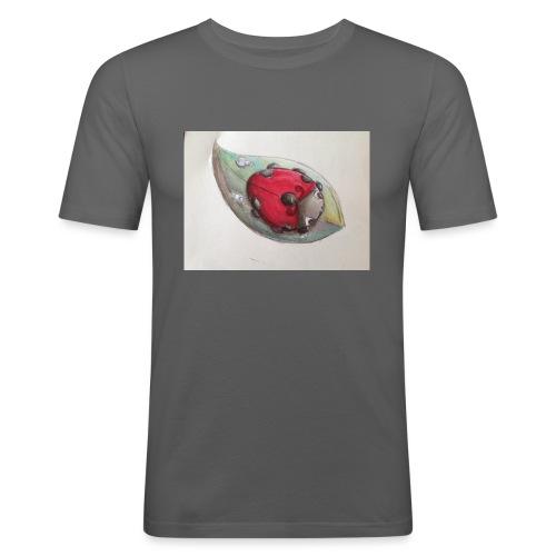 Lady bug - Maglietta aderente da uomo