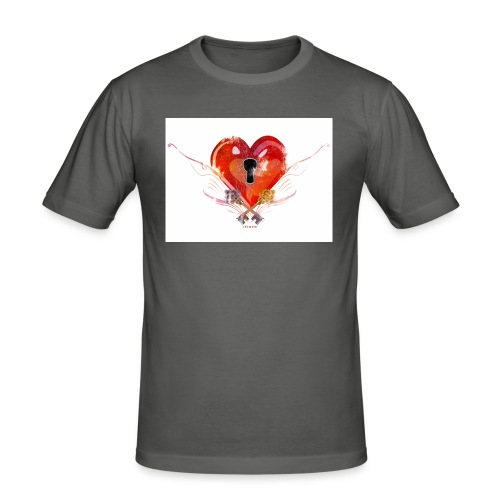 stvalentinmotif2 - T-shirt près du corps Homme