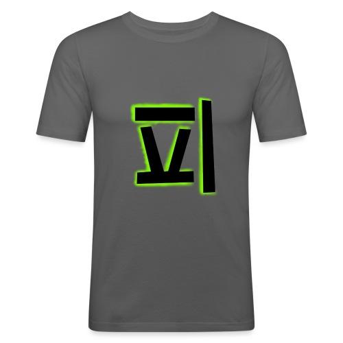 gr--nare_swezo - Slim Fit T-shirt herr