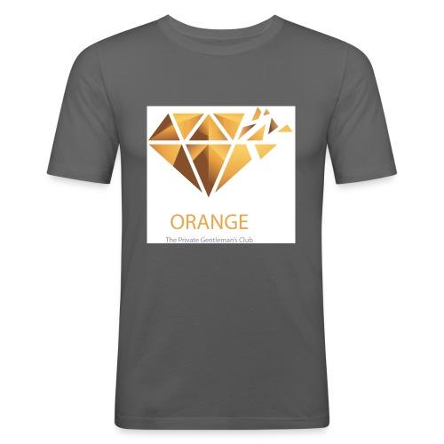 Orange Worldwide - The Private Gentleman's Club - Männer Slim Fit T-Shirt