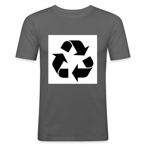 maglia ciclo di vita - Maglietta aderente da uomo