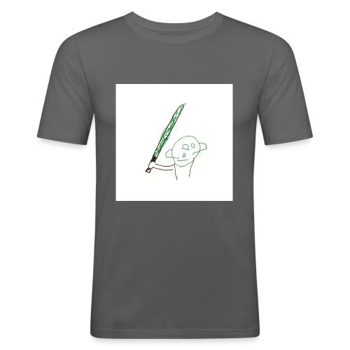 Algot ritar! - Slim Fit T-shirt herr