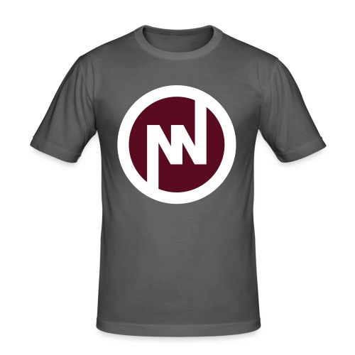 nniflogotype - Slim Fit T-shirt herr