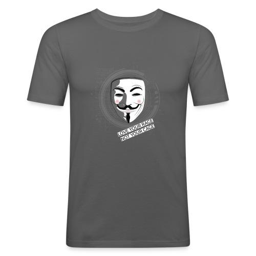 Anonymous Love Your Rage - Men's Slim Fit T-Shirt