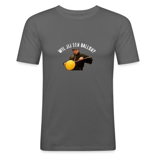 Official PanaPunch Shirt - Wil jij een ballon? - Mannen slim fit T-shirt