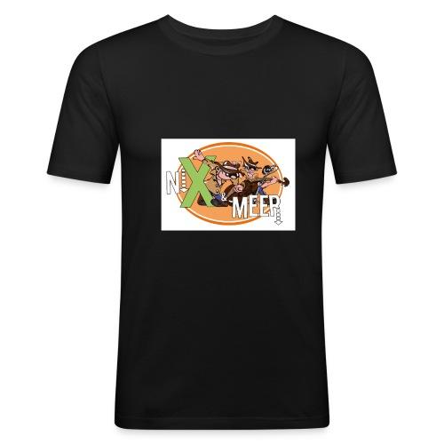 nixenmeer - Mannen slim fit T-shirt